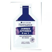 Floressance - Shots Jambes Affinées 5 en 1 Saveur cassis 140ml