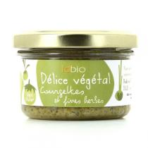 ID Bio - Délice Végétal Courgettes Fines Herbes Bio 100g