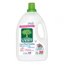 L'Arbre Vert - Lessive Liquide Peaux Sensibles Famille & Bébé 2L