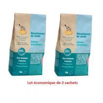 La Droguerie écologique - Lot de 2 Percarbonate de Soude 1kg