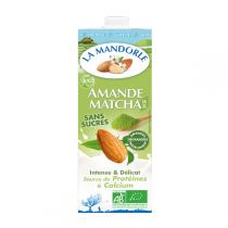 La Mandorle - Mandelmilch Matcha 1L
