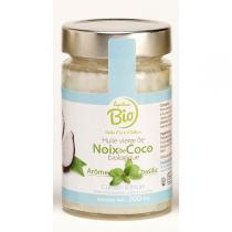 Lapalisse Bio - Huile vierge Noix Coco/Basilic Bio 20cl
