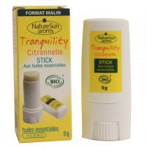 NatureSun Aroms - Stick tranquility moustique Bio 9g