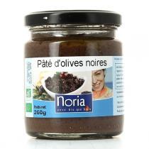 Noria - Pâté D'olives Noires Bio 260g