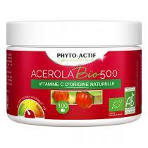 Phyto-Actif - Acerola 500 Bio 100cps