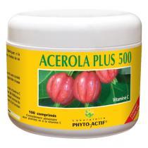 Phyto-Actif - Acerola plus 500 100cps