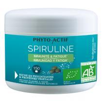 Phyto-Actif - Spiruline Ecocert 150cps