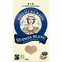 Quinola Mothergrain - Quinoa bio et équitable Blanc 500gr
