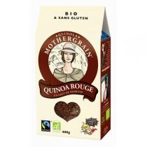 Quinola Mothergrain - Quinoa bio et équitable Rouge - 400gr