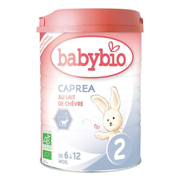 Babybio - Lait de chèvre infantile bio 2ème âge 900g - Dès 6 mois
