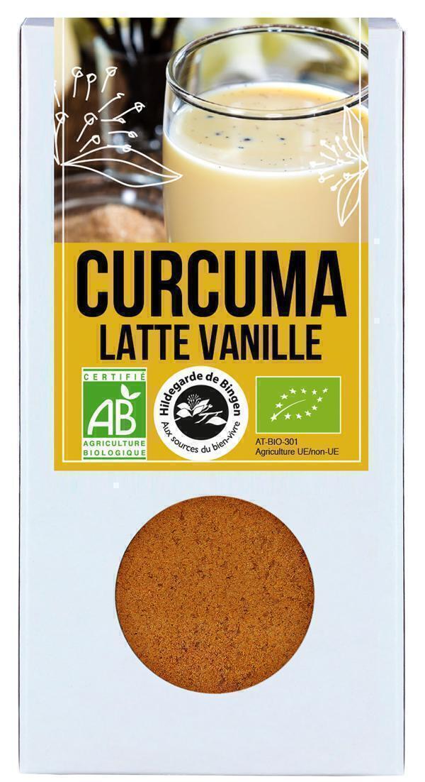 Hildegarde de Bingen - Curcuma Latte Vanille Bio 60g
