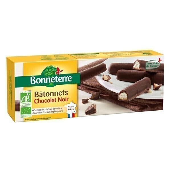 Bonneterre - Bâtonnets Chocolat Noir 150g