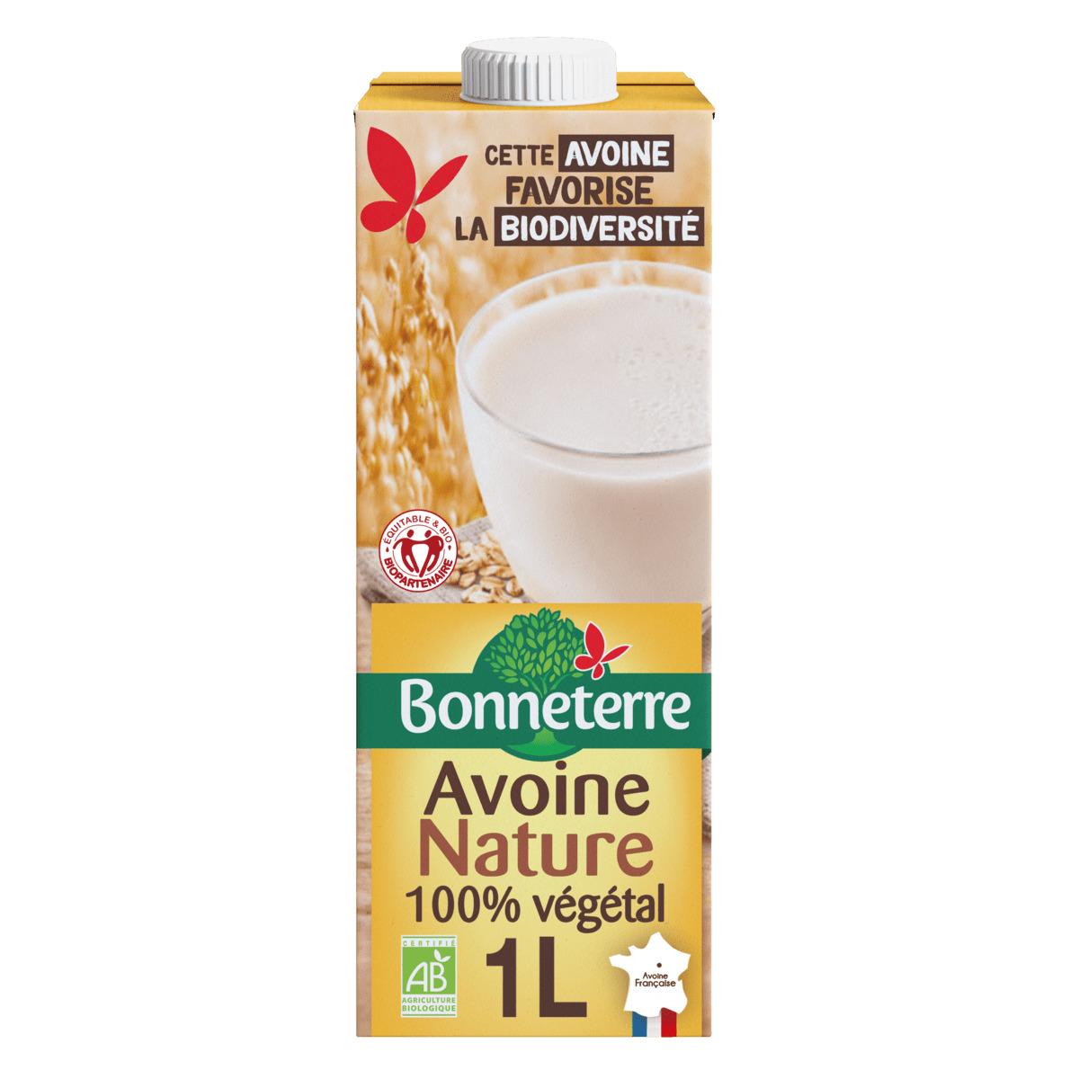 Bonneterre - Boisson Avoine nature 1L