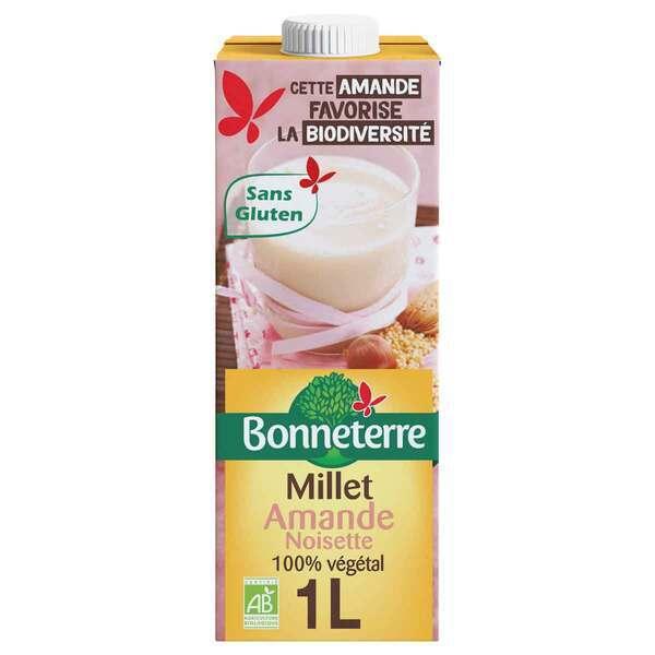 Bonneterre - Boisson Millet amande noisette 1L