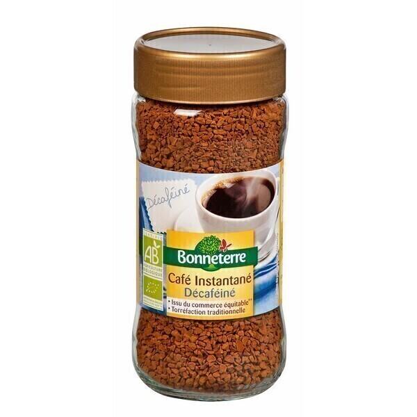 Bonneterre - Café lyophilisé decafeiné Pur arabica 100g