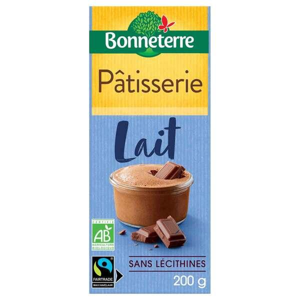 Bonneterre - Tablette chocolat Lait Patisserie 200gr
