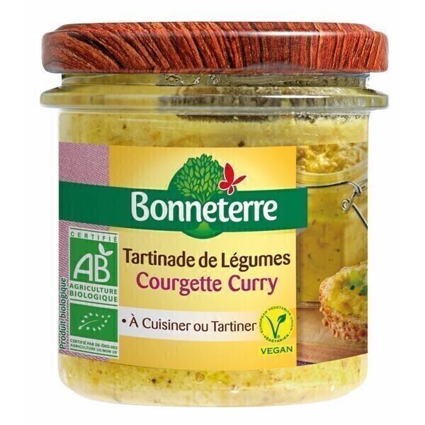 Bonneterre - Tartinade de légumes Courgette curry 135g