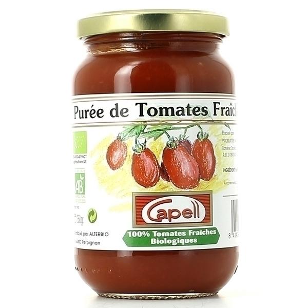 Capell - Purée De Tomates Bio 350g
