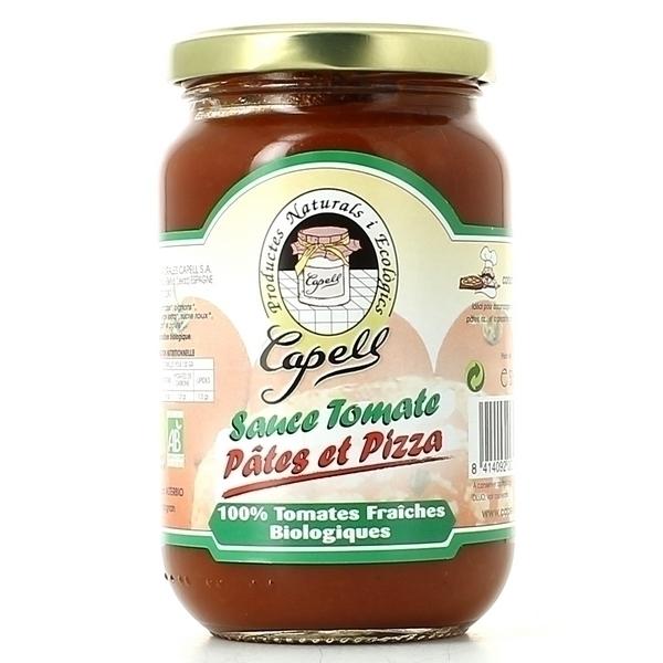 Capell - Sauce Tomate Pâtes Et Pizza Bio 350g