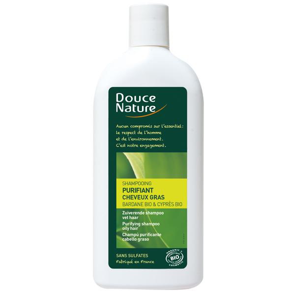 shampoing purifiant cheveux gras 300ml douce nature acheter sur. Black Bedroom Furniture Sets. Home Design Ideas
