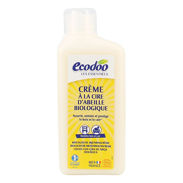 Ecodoo - Crème à la cire d'abeille Bio 250ml