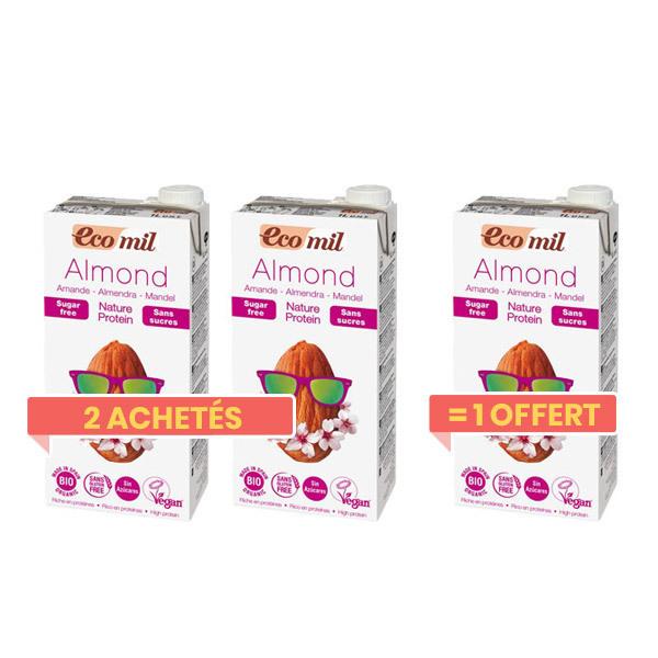 EcoMil - Angebot Mandelmilch Natur 1 Liter 2+1