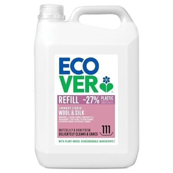 Ecover - Lessive laine et linge délicat 5L