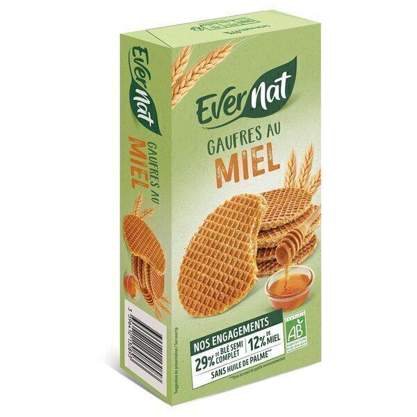 Evernat - Gaufres Miel 175g