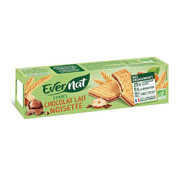 Evernat - Gouters chocolat lait noisettes 225g