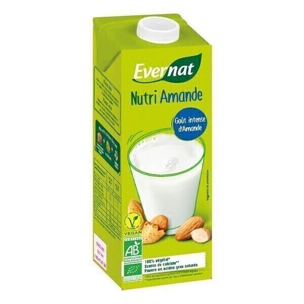 Evernat - Nutriamande (Boisson végétale aux amandes) 1L