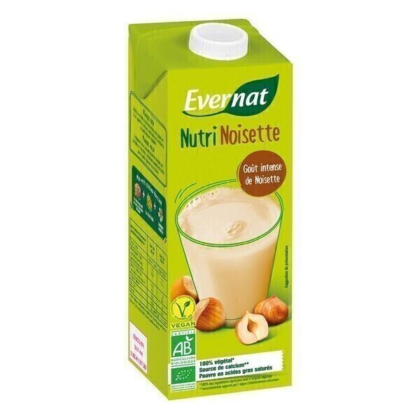 Evernat - Nutrinoisette (Boisson végétale aux noisettes) 1L