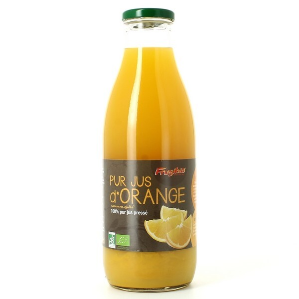 Frugibio - Jus D'orange 100% Pur Jus Bio 1L