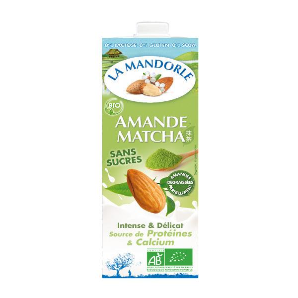 La Mandorle - Lait d'amande Matcha 1L