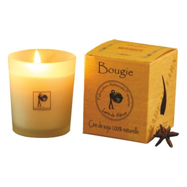 bougie citronnelle 75g latitude nature acheter sur. Black Bedroom Furniture Sets. Home Design Ideas