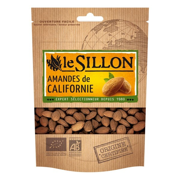 Le sillon - Amandes Decortiquées (Usa/Californie) 125gr
