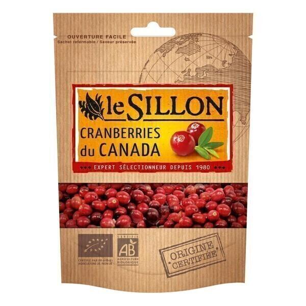 Le sillon - Cranberries Sechées (Canada) 125g
