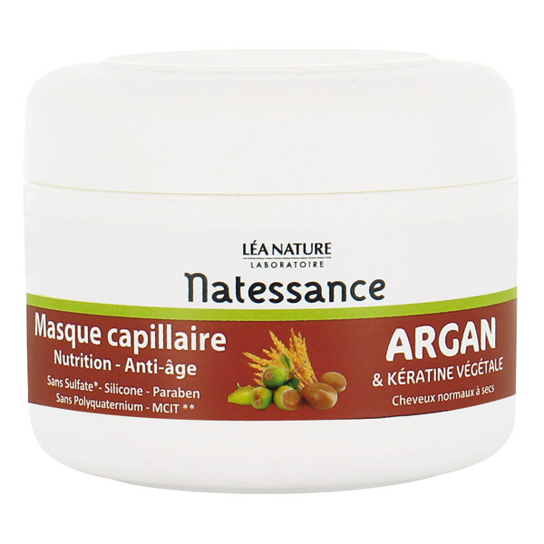 masque anti ge argan k ratine v g tale 200ml natessance acheter sur. Black Bedroom Furniture Sets. Home Design Ideas