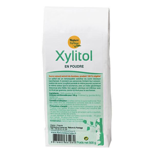 Nature & Partage - Poudre de Xylitol 500g