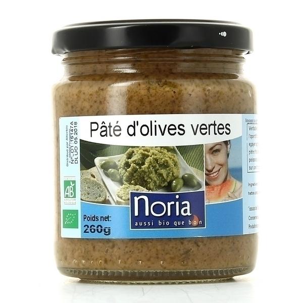 Noria - Pâté D'olives Vertes Bio 260g