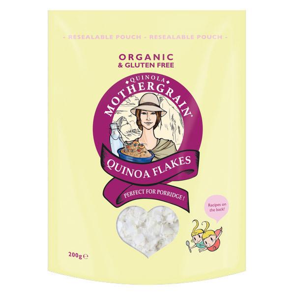 Quinola Mothergrain - Flocons de Quinoa sans gluten 200gr
