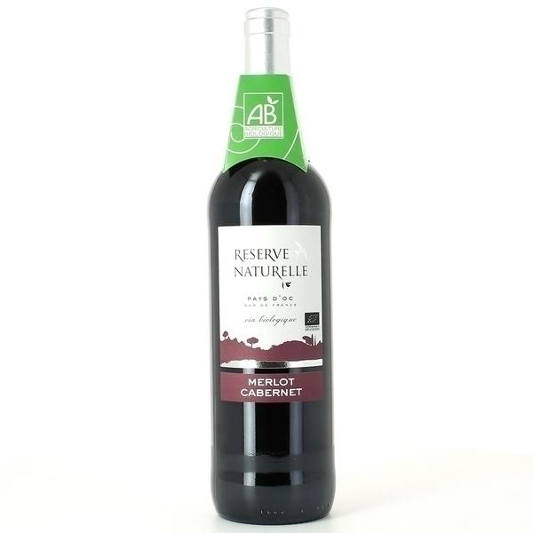 Réserve Naturelle - Vin Igp Pays D'oc Rouge Bio 75cl