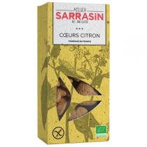 Atelier Sarrasin - Sablés citron 130g