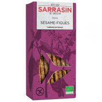 Atelier Sarrasin - Sablés Sarrasin sésame et figue 90g
