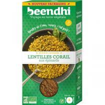 Beendhi - Lentilles corail aux épinards - BIO 250g