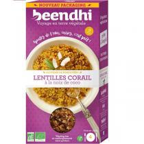 Beendhi - Lentilles corail à la noix de coco Bio 250g