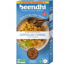 Beendhi - Lentilles corail à la tomate Bio 250g