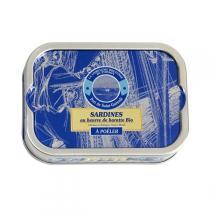 Compagnie Bretonne de Poisson - Sardines au beurre de baratte 115g