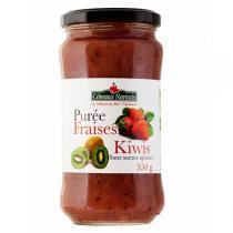 Côteaux Nantais - Purée fraises kiwis 350 g