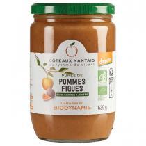 Côteaux Nantais - Purée pommes figues Demeter 630g