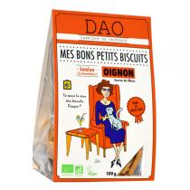 Dao - Biscuits à l'oignon bio 100g